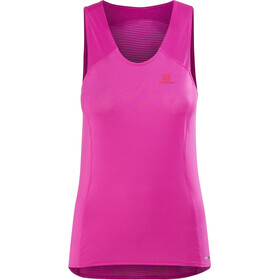 Salomon Comet Mouwloos Shirt Dames, rose violet